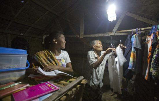 Lampu tanpa listrik